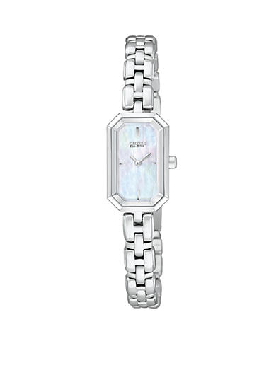 Citizen Eco-Drive Stainless Steel with Mother-Of-Pearl Dial Watch
