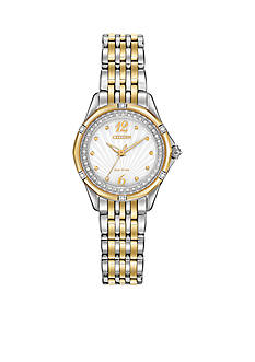 Citizen Women's Signature Versailles Two-Tone Watch