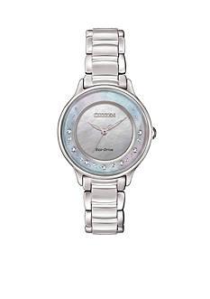 Citizen Eco-Drive Women's Circle Of Time Diamond Watch