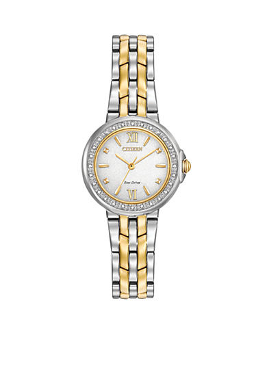 Citizen Ladies Eco-Drive Diamond Bezel Watch