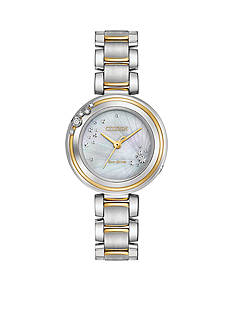 Citizen Ladies' Two-Tone Stainless Steel Citizen L Carina Watch