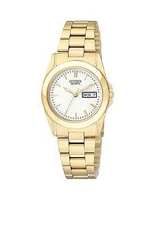 Citizen Quartz Women's Gold Tone Watch