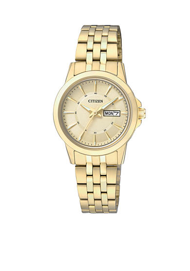 Citizen Women's Quartz Gold Tone Watch