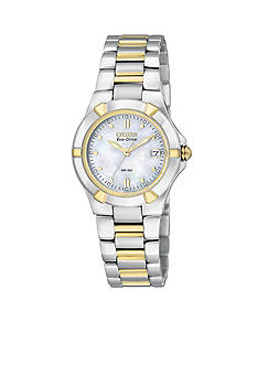 Citizen Women's Eco-Drive Riva Watch with Mother of Pearl Dial - Online Only