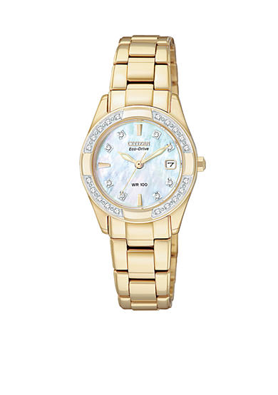 Citizen Eco-Drive Gold Tone Regent