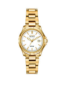 Citizen Eco-Drive Women's Gold-Tone Silhouette Watch