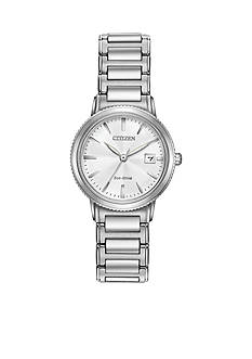 Women's Citizen Eco-Drive LDS Silhouette Sport With White Dial Watch