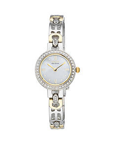 Citizen Eco-Drive Women's Silhouette with Swarovski® Crystal Bezel Watch