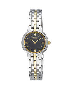 Citizen Eco-Drive Women's Two-Tone Silhouette Watch
