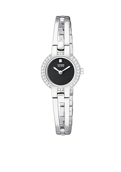 Citizen Eco-Drive Silhouette Crystal Bangle