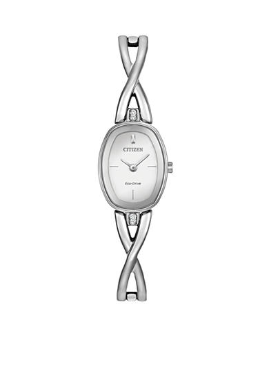 Citizen Women's Eco-Drive Silhouette Bangle Watch