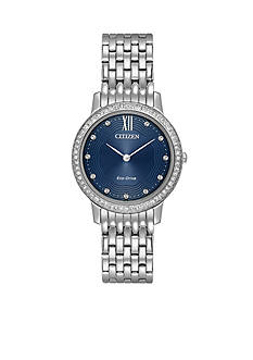 Ladies' Citizen Eco-Drive Silhouette Stainless Steel Watch