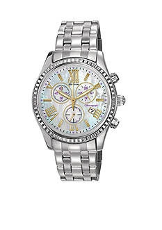 Citizen Silver-Tone Women's Chronograph Watch