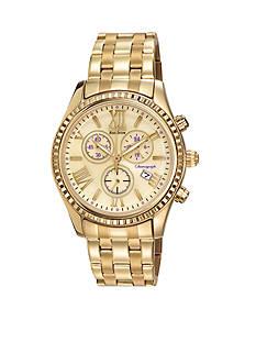 Citizen Women's Gold Tone Chronograph Watch