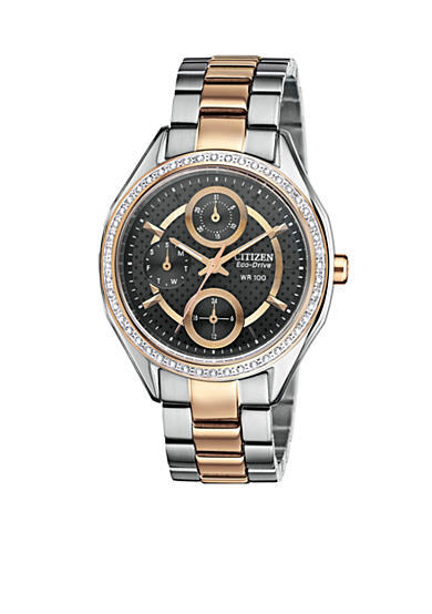 Citizen Ladies' Drive Two Tone Rose Gold Tone Watch