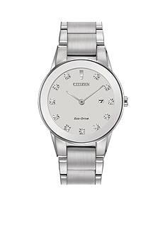 Citizen Eco-Drive Women's Silver-Tone Axiom Watch
