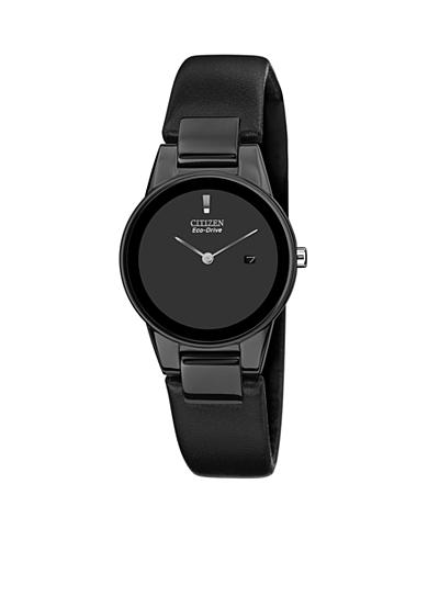 Citizen Women's Eco-Drive Axiom Black Leather Strap