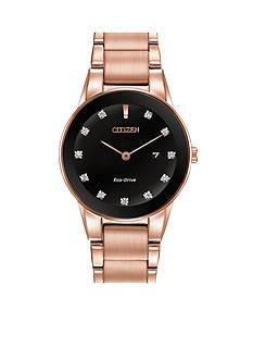 Citizen Eco-Drive Women's Rose Gold-Tone Axiom Watch