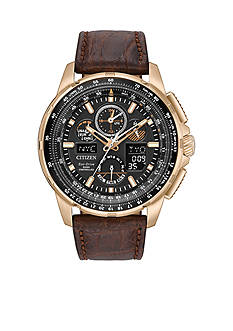 Men's Rose Gold-Tone Stainless Steel Calibre 2100 Citizen Watch