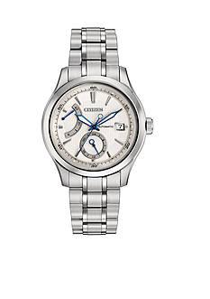 Citizen Men's Grand Classic Signature White Dial Watch