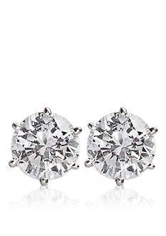 Belk & Co. 1/4 ct. t.w. Diamond Stud Earrings in 14k White Gold