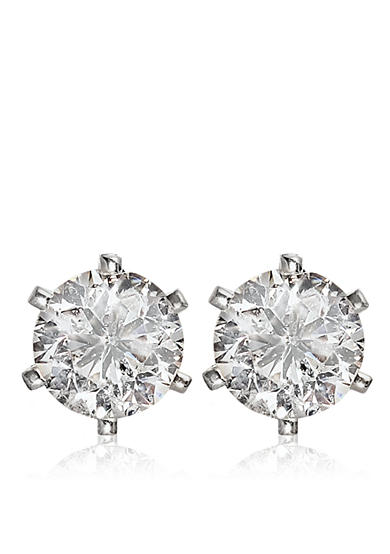 Belk & Co. 3/4 ct. t.w. Diamond Stud Earrings in 14k White Gold