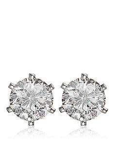 Belk & Co. 3/4 ct. t.w. Diamond Stud Earrings in 14k White Gold