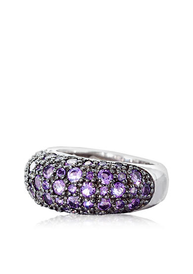Belk & Co. Sterling Silver Amethyst Ring