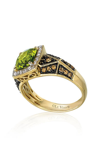 Le Vian® Peridot and Diamond Ring