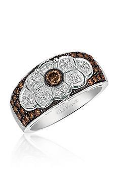 Le Vian® Chocolatier® Chocolate Deco™ Estate Ring in 14K Vanilla Gold®