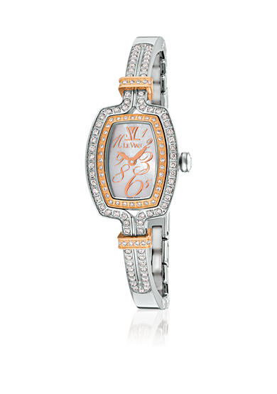 Le Vian® Women's Vanilla Diamond® Bangle Stainless Steel Watch