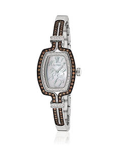 Le Vian Women's Chocolate Diamond® Stainless Steel Bangle Watch