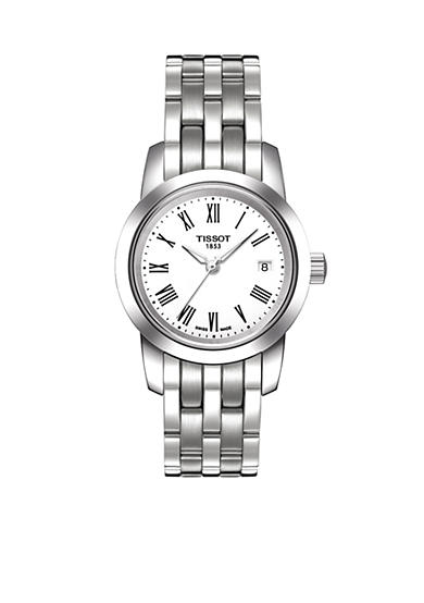 Tissot Classic Dream White Quartz Stainless Steel Watch