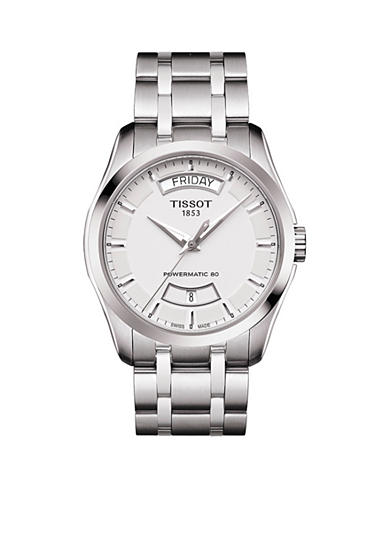 Tissot Men's Stainless Steel Couturier Powermatic 80 Watch