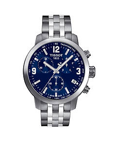 Tissot Men's PRC 200 Stainless Steel Chronograph Watch