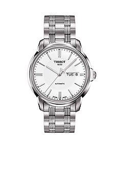 Tissot Men's Automatic III Classic White Automatic Watch