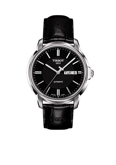 Tissot Men's Automatic III Classic Black Automatic Watch