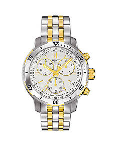 Tissot Men's Two-Tone PRS 200 Quartz Chronograph Watch