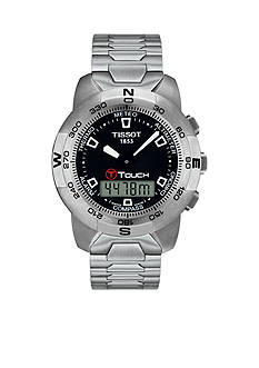 Tissot Men's T Touch Stainless Steel Chronograph Watch