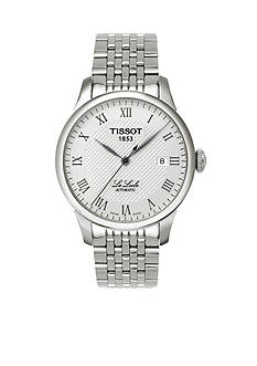 Tissot Le Locle Men's Silver-Tone Automatic Classic Watch