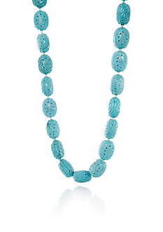 Belk & Co. Turquoise Strand Necklace