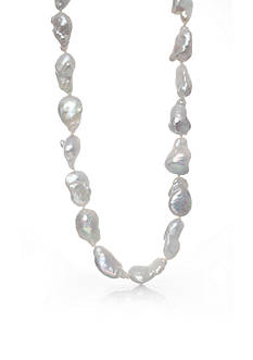 Belk & Co. Sterling Silver Freshwater Pearl Necklace