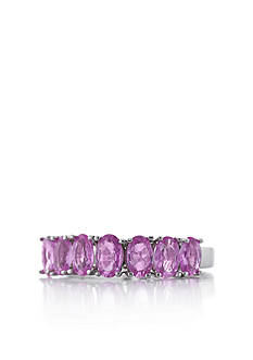 Belk & Co. Sterling Silver Pink Sapphire Ring