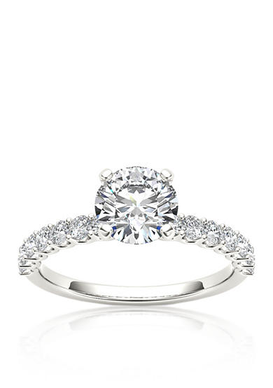 Belk & Co. 1 ct. t.w. Round White Diamond Engagement Ring in 14k White Gold