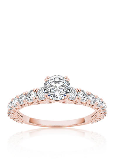 Belk & Co. 1 ct. t.w. Diamond Engagement Ring in 14k Rose Gold