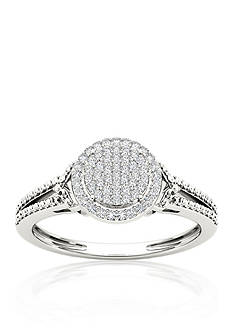 Belk & Co. 1/6 ct. t.w. Diamond Promise Ring in 10k White Gold
