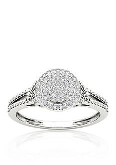 Belk & Co. 1/6 ct. t.w. Diamond Promise Ring in 10k White Gold