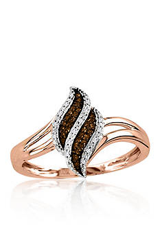 Belk & Co. 1/10 ct. t.w. Diamond Ring in 10k Rose Gold