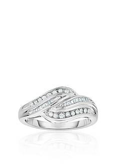 Belk & Co. Diamond Ring in 10k White Gold