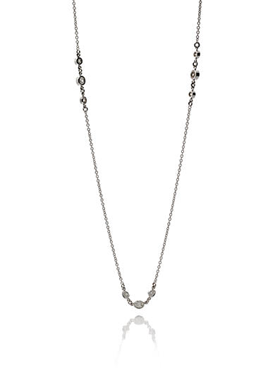Belk & Co. Diamond Necklace in 14k White Gold